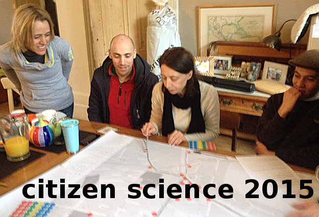 Residents of Lewisham in London, starting a citizen science project in January 2014